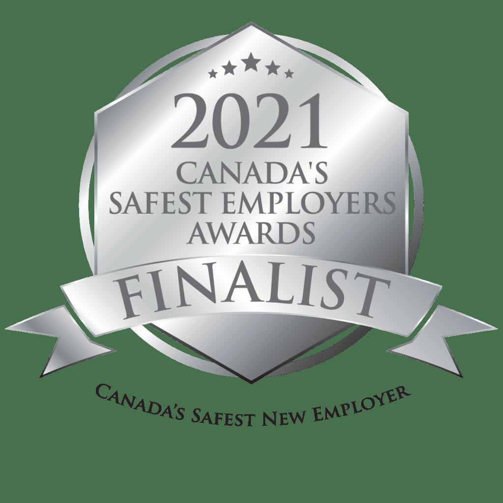 2021 Canada's Safest Employers Awards Finalist Logo